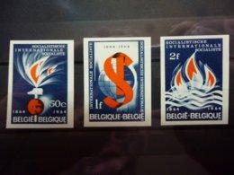 BELGIE  ONGETAND 1290/92  ( H1 ) - Non Dentelés
