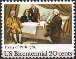 USA 1983 20¢ Treaty Of Paris - Nuovi