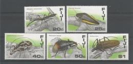 Fiji 1987  Insects  Y.T. 566/570 ** - Fiji (1970-...)