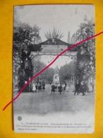Villeneuve Sur Lot  Fêtes Présidentielles 3 Octobre 1907 L'arc De Triomphe De L'armée De Terre Et De Mer .. - Villeneuve Sur Lot