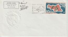 TAAF Lettre 1975 Non Voyagée - Storia Postale