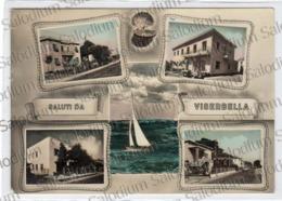 Saluti Da VISERBELLA - Rimini - Vedutine - Conchiglia Shell - Rimini
