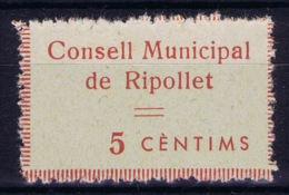 Spain: Consell Municipal De Ripollet  (Barcelona) - Vignetten Van De Burgeroorlog