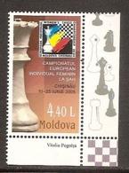 MOLDOVA 2005●European Chess Women's Championship●●Schach /Mi513 MNH - Chess