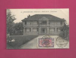 CP De 1920 Pour La France - YT N° 72 - Cameroun (1915-1959)