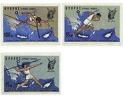 Ref. 71709 * MNH * - CYPRUS. 1967. ATHLETIC GAMES IN CYPRUS . JUEGOS ATLETICOS EN CHIPRE - Chipre (República)