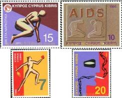 Ref. 114970 * MNH * - CYPRUS. 1995. WEALTHNESS . LA SALUD - Ongebruikt