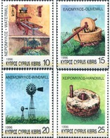 Ref. 115004 * MNH * - CYPRUS. 1996. MOLINOS DE CHIPRE - Ongebruikt