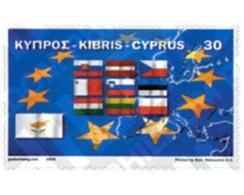 Ref. 146027 * MNH * - CYPRUS. 2004. EUROPEAN UNION AMPLIATION . AMPLIACION DE LA UNION EUROPEA - Cyprus (Republic)