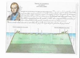 """Cocos  Bloc Feuillet N° 1** 150° Anniversaire Du Voyage De Charle Darwin à Bord Du """"Beagle"""" - Cocos (Keeling) Islands"""