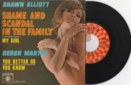 SHAWN ELLIOTT Et DEREK MARTIN – 4 Titres - Pochette Avec Languette – TTB (Lot 177) - Vinyl Records
