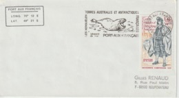 TAAF 1980 Lettre Pour La France - Storia Postale