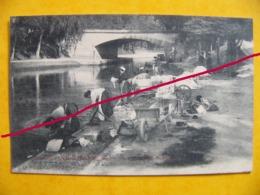 Agen  Canal Du Midi Groupe De Laveuses - Agen