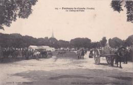 FONTENAY-le-COMTE (85)  Champ De Foire . Attelages - Fontenay Le Comte