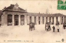 71 - CHALON SUR SAONE - LA GARE - Chalon Sur Saone