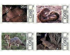 Ref. 29994 * MNH * - CISKEI. 1982. MAMIFEROS PEQUEÑOS DE CISKEI - Stamps