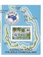 """Cocos  Bloc Feuillet N° 3** AUSIPEX 84 """"régates Dans Le Lagon"""" - Cocos (Keeling) Islands"""