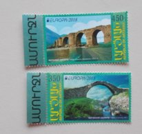 Nagorno Karabakh (Armenia)cept 2018 PF Stamps - 2018