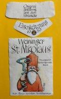11840 - Weininger St.Nikolaus 1989 Suisse Saint-Nicolas Illustration Fredy Sigg - Other