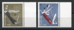 RC 14144 SUISSE N° 1906 / 1907 LE COUTEAU DE POCHE NEUF ** MNH - Schweiz