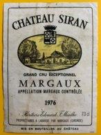 11841 - Château Siran 1976 Margaux - Bordeaux