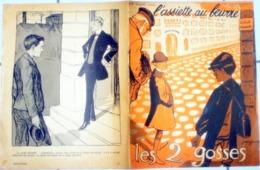 REV. L'ASSIETTE AU BEURRE N°342 Du 19 Octobre 1907  : LES  2 GOSSES - Illust. GRANDJOUAN - Boeken, Tijdschriften, Stripverhalen