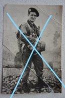 Photo ABL PARA COMMANDO Tenue De Saut 1950 Armée Belge Militaria - Krieg, Militär