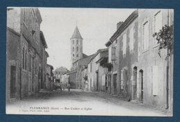 FLEURANCE - Rue Codéot Et Eglise - Fleurance