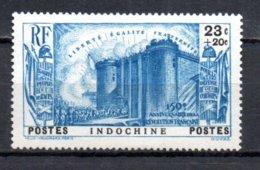 Indochine N° 213 Luxe ** - 1939 150e Anniversaire De La Révolution Française
