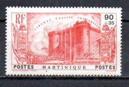 Martinique N° 172 Luxe ** - 1939 150e Anniversaire De La Révolution Française
