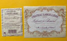11847  -  Château L'Argillière 1994 Lalande-de-Pomerol - Bordeaux