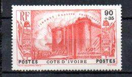 Cote D'Ivoire N° 148 Luxe ** - 1939 150e Anniversaire De La Révolution Française