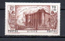 Niger N° 70 Luxe ** - 1939 150e Anniversaire De La Révolution Française