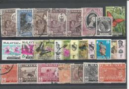 24902) Malaya Collection - Malayan Postal Union