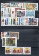 Italia  2001 - Annata 2001  Completa Sottofacciale MNH ** Leggere Descrizione - Annate Complete
