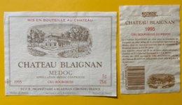 11851  -  Château Blaignan 1995 Médoc - Bordeaux