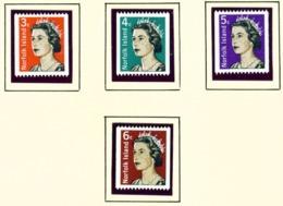 NORFOLK ISLAND  -  1968 Definitives Set Unmounted/Never Hinged Mint - Norfolk Island