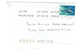 FRANCE - TGV SUR LETTRE 2008 - Trains