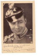 Heinz Rühmann, German Fim Actor With Hand Signed Autograph - Foto Dedicate