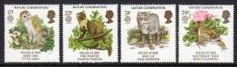 GREAT BRITAIN GB - 1986 EUROPA NATURE CONSERVATION SET (4V) FINE MNH ** SG 1320-1323 - 1952-.... (Elizabeth II)