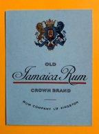 11860  -  Old Jamaica Rhum Crown Brand Rum CVompany Ltp Kingston - Rum