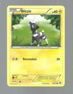 REF. 59 - POKEMON - BLITZLE - 040/114 - NERO E BIANCO - COMUNE - Pokemon