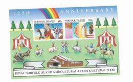 Ile Norfolk Bloc Feuillet N° 8**Expostion Agricole De L'ile - Norfolk Island