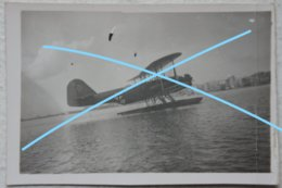 Photox4 LUFTWAFFE Saloniki Heinkel He 59 7. Seenotstaffel Flgzeug Hydravion Seaplane Grece Hellas 1941 Avion Aviation - Aviation