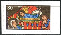 BRD - Mi 3500 Gestanzt Aus FB 94 - ** Postfrisch (M) - 80+20C     Weihnachten 19 - Ausgabe 10.10.2019 - Unused Stamps