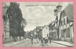 67 - SCHILTIGHEIM - Bischweiler Strasse - Tram - Tramway - Strassenbahn - Schiltigheim