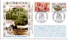 65 ANS DE LA BATAILLE D'OBENHEIM BAS RHIN - Guerre Mondiale (Seconde)