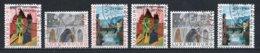 Luxembourg 1964 : Timbres Yvert & Tellier N° 654 - 655 - 656 - 657 - 658 Et 659 Oblit. - Gebruikt