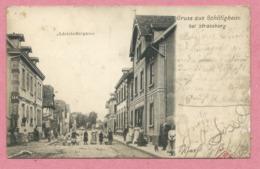 67 - GRUSS Aus SCHILTIGHEIM - Adelshoffergasse - Schiltigheim