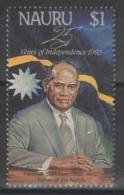 Nauru - YT 383 ** MNH - 1993 - 25e Anniversaire De L'Indépendance - Nauru